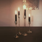 M+A NYC Solid Brass Taper Stands
