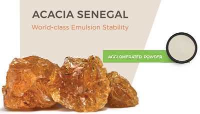 Agglomerated Acacia Senegal (300 g sample)
