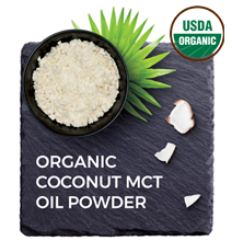 Organic PureAcacia Coconut MCT Oil Powder (300 g sample)