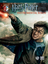Harry Potter Instrumental Solos Clarinet