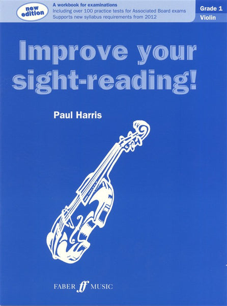 Paul Harris Improve Your Sight-Reading! Grade 1 Violin (New Edition)