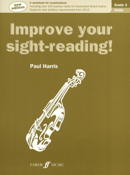Paul Harris Improve Your Sight-Reading! Grade 3 Violin (New Edition)