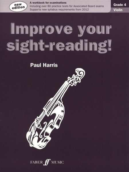 Paul Harris Improve Your Sight-Reading! Grade 4 Violin (New Edition)