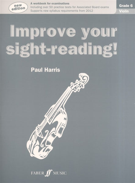Paul Harris Improve Your Sight-Reading! Grade 6 Violin (New Edition)