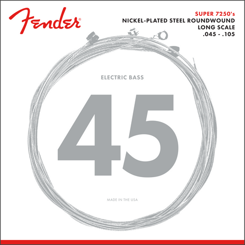 Fender 7250 Bass Guitar Strings 45-105