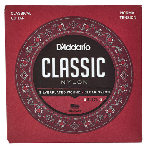 D'addario EJ27N Full Size Student Nylon Strings