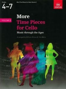 More Time Pieces for Cello Volume 2