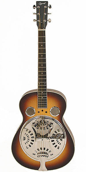 Ozark 3515 Resonator Guitar Wooden Body