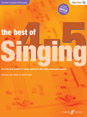 The Best Of Singing Grades 4-5 High Voice