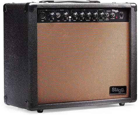 Stagg 40 AA R UK Acoustic Guitar Amp