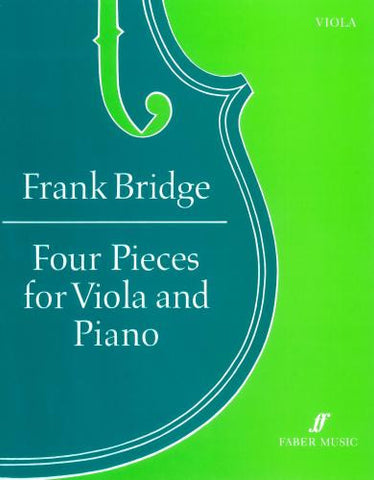 Bridge Four Pieces Viola and Piano