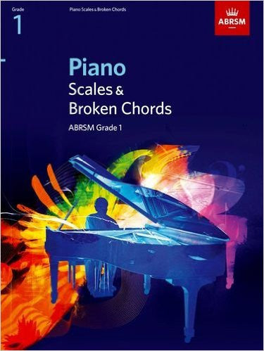 ABRSM Piano Scales and Broken Chords Grade 1