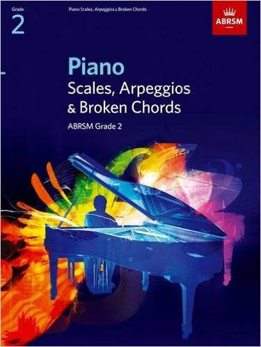 ABRSM Piano Scales and Broken Chords Grade 2