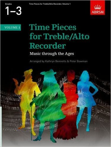 Time Pieces for Treble/Alto Recorder Volume 1