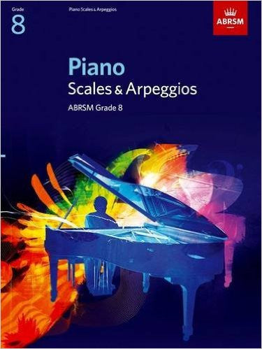 ABRSM Piano Scales and Broken Chords Grade 8