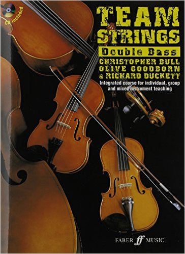 Team Strings Double Bass Book and CD