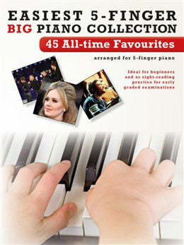 Easiest 5 Finger Piano 45 All Time Favourites