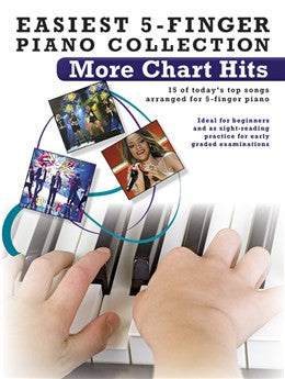 Easiest 5 Finger Piano More Charts Hits