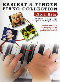 Easiest 5 Finger Piano No.1 Hits