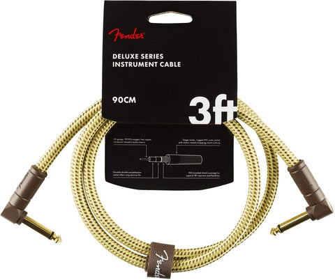 Fender Deluxe 3 Foot Angled Cable