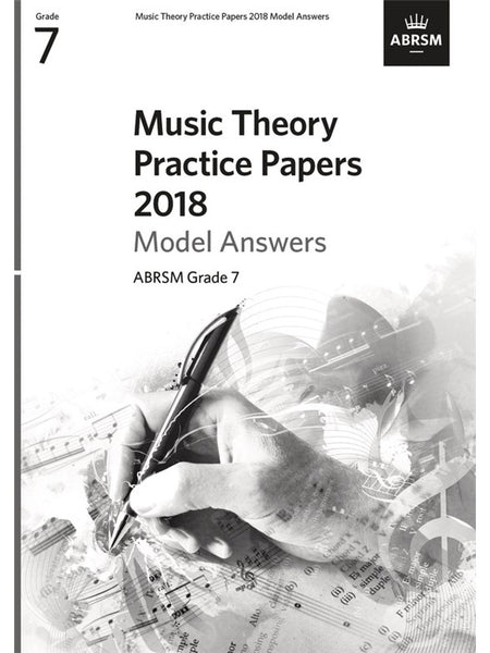 ABRSM Music Theory Practice Papers 2018 Grade 7 Answers