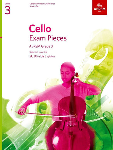 ABRSM Cello Exam Pieces 2020-2023 Grade 3 Score & Part