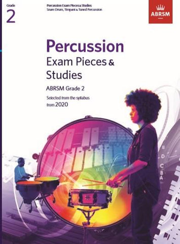 ABRSM Percussion Exam Pieces & Studies Grade 2