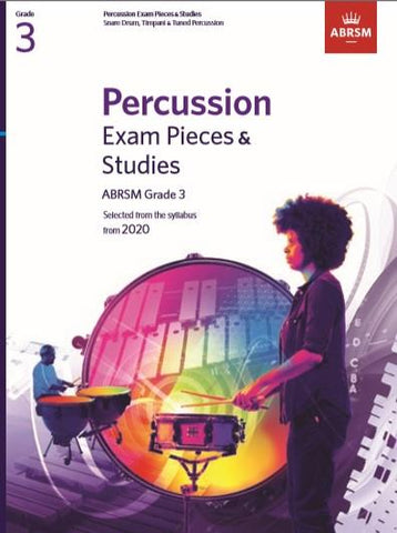 ABRSM Percussion Exam Pieces & Studies Grade 3