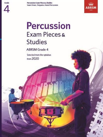 ABRSM Percussion Exam Pieces & Studies Grade 4
