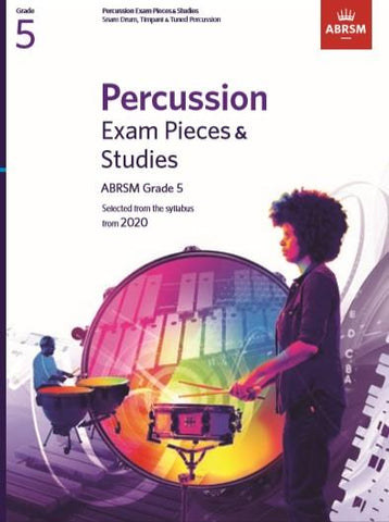 ABRSM Percussion Exam Pieces & Studies Grade 5