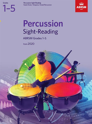 ABRSM Percussion Sight-Reading Grades 1-5