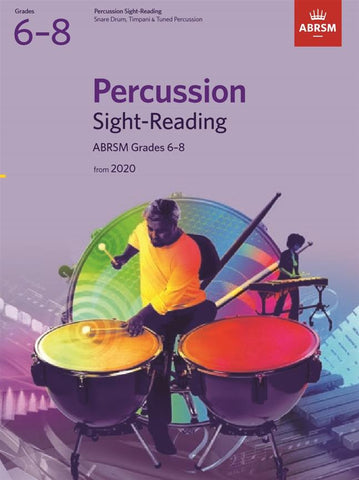 ABRSM Percussion Sight-Reading Grades 6-8
