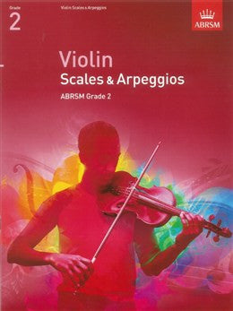 ABRSM Violin Scales And Arpeggios Grade 2 From 2012