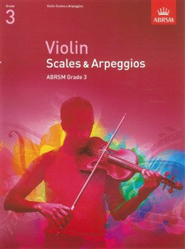 ABRSM Violin Scales And Arpeggios Grade 3 From 2012