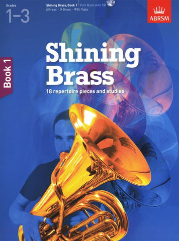 ABRSM Shining Brass Book 1 Part Book/CD Grades 1-3
