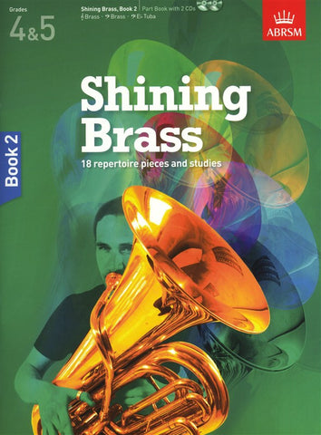 ABRSM Shining Brass Book 2 Part Book/2CDs Grades 4-5