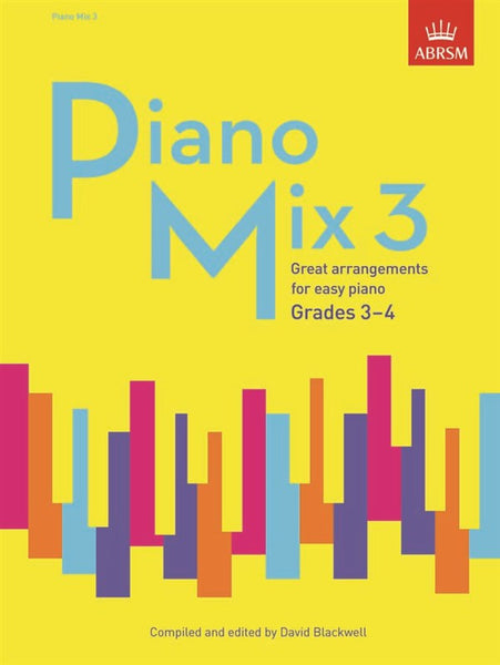 ABRSM Piano Mix Book 3 Grades 3-4