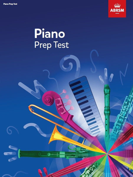ABRSM Piano Prep Test from 2017
