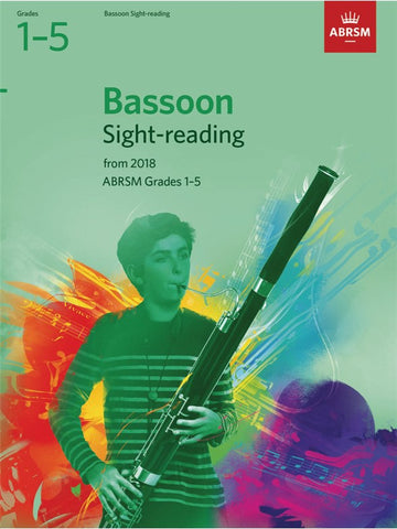 ABRSM Bassoon Sight-Reading Tests Grades 1–5 from 2018