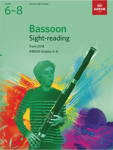 ABRSM Bassoon Sight-Reading Tests Grades 6–8 from 2018