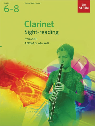 ABRSM Clarinet Sight-Reading Grades 6-8 2018