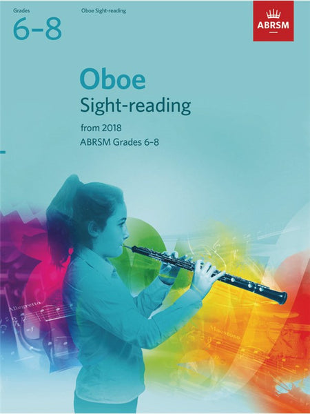 ABRSM Oboe Sight-Reading Tests Grades 6–8 from 2018