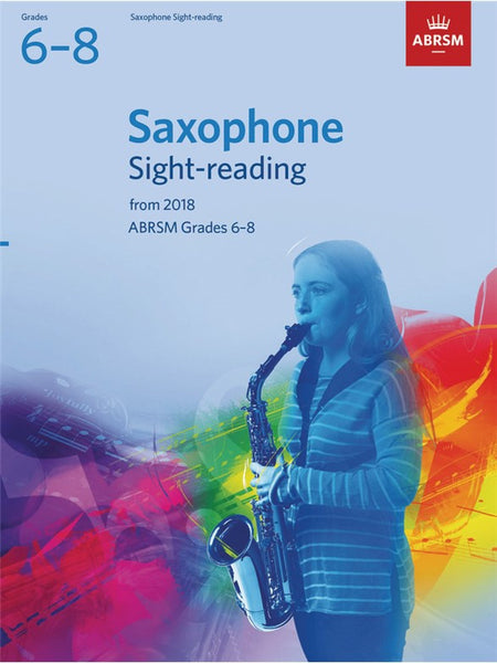 ABRSM Saxophone Sight-Reading Grades 6-8 2018