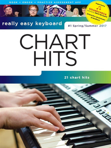 Really Easy Keyboard Chart Hits Spring/Summer 2017