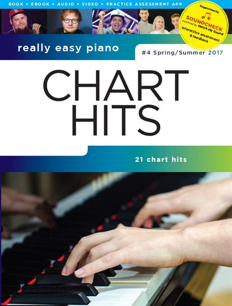 Really Easy Piano Chart Hits Spring/Summer 2017