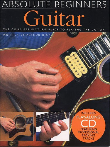Absolute Beginners Guitar Book with CD
