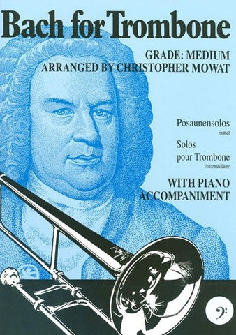 J.S. Bach: Bach For Trombone Bass Clef