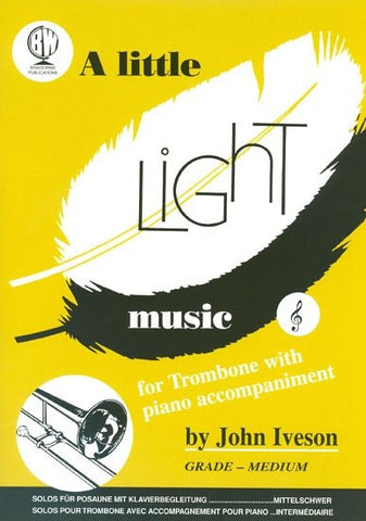 A Little Light Music Trombone Treble Clef
