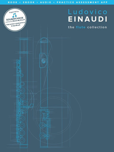 Einaudi The Flute Collection Book/Online Media