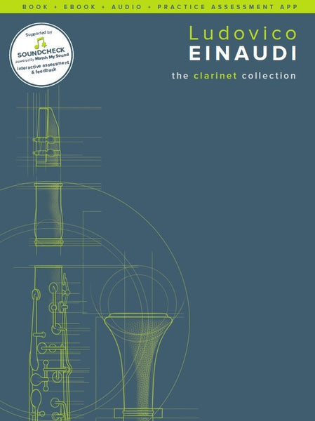 Einaudi The Clarinet Collection Book/Online Media